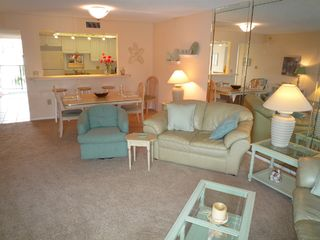 Siesta Key condo photo - living room
