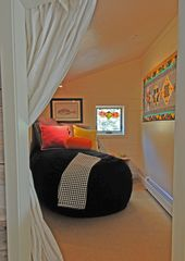 Taos Ski Valley house photo - reading nook: 21st century beanbag chair