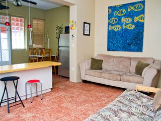 Ocean Park apartment photo - A comfortable and fun unit, with AC, WiFi, Ipod docks, DVD, Apple computer..More