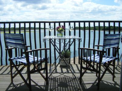 County Down apartment rental - Drinks on the balcony anyone?