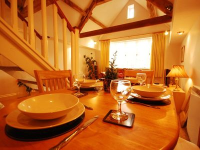Theale cottage rental - Dining area