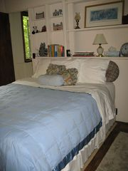 Burnsville cabin photo - Cozy Queen Bedroom