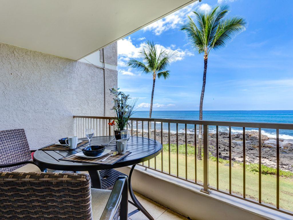 Looking south from the lanai