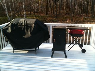 outside grill and smoker - Albrightsville house vacation rental photo