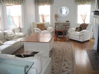 Hyannis - Hyannisport house photo - Large Living Room with Flat Screen TV