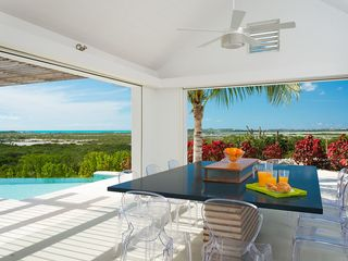 Providenciales - Provo villa photo - Outdoor Dining seats 10