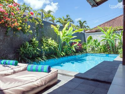 Quiet 3 bedrooms in Seminyak.