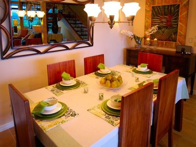 Manuel Antonio house rental - Dining Area