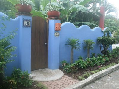 Entrance to Casa Duende from Ninos Heroes