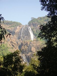Dudsagar Waterfalls
