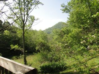 Black Mountain cabin photo - View from Hot Tub of Watch Knob Mountain