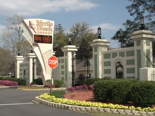 Surfside Beach condo photo - The Myrtle Beach Resort Entrance Gate