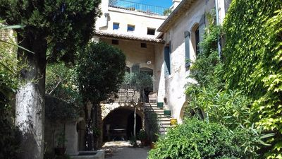 Character village house in a quiet hamlet near Uzes
