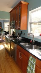 Oak Park apartment photo - new stainless and granite kitchen