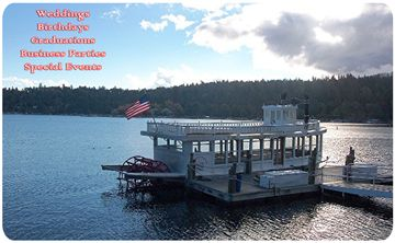 "Take a ride on the ""Queen"" in beautiful Lake Arrowhead"