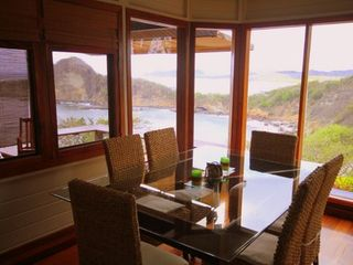 Bahia Gigante villa photo - Diningroom table has incredible views!