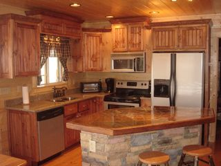 Ellijay cabin photo - Yes, the fully-equipped gourmet kitchen is include