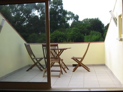 Vila Praia de Ancora villa rental - Roof top sun terrace adjoining master bedroom