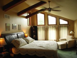 Bushkill chalet photo - Master bedroom - California King!