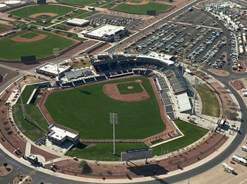 Peoria Sports Complex at 83rd Ave/Bell (Approx 15 min away)
