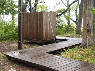Deltaville cottage photo - Outdoor Shower