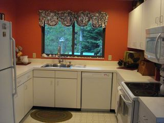 Edgartown house photo - Modern, Updated Kitchen(Stove&microwave, dishwasher, washer&dryer,sink are new)