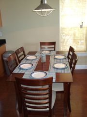 Carolina Beach townhome photo - Dining room
