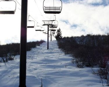 View of the chairlift within walking distance