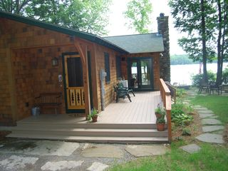 Norway cabin photo - Front entry and porch