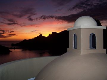 San Carlos villa rental - Stunning vistas with seasonal sunset views of Baja