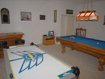 Great air conditioned games room
