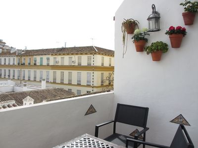 Malaga City apartment rental - Private Terrace