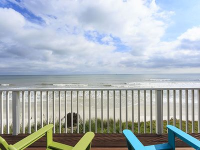 Enjoy the Views - Enjoy Ocean front views for as far as the eye can see!