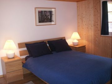 Chalet La Grand Ourse- double bedroom 2