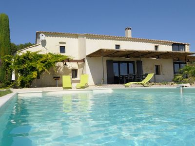 Authentic house La romance, quality, private pool, Provence Cèze Valley