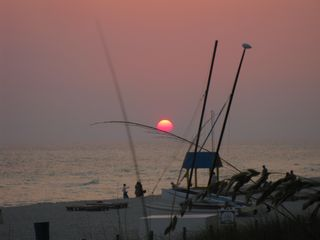 Splash Resort condo photo - Sunset from the beach. Encore tomorrow.