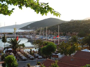 Kalkan Harbour - really pretty and buzzing!