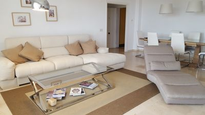 Luxury apartment opposite the Golf Torrequebrada, with beautiful views