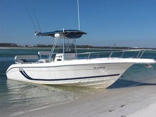 "Marathon villa photo - Our 25' 6"" Cobia with 225hp 4strk Yamaha, full electronics, Avail. for rent."