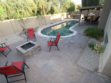 McCormick Ranch Scottsdale house rental - Love being outdoors? This backyard offers ton's of fun and relaxation!