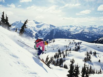 Great Skiing in Whistler, British Columbia