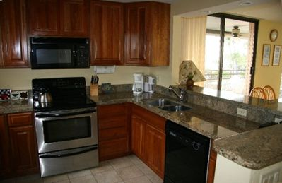 GRANITE COUNTERS AND STAINLESS STEEL APPLIANCES - FULLY STOCKED