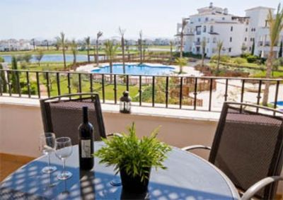 La Torre Golf Resort apartment rental - Sit Back and Relax on the Balcony
