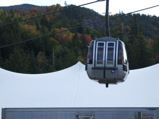 Lake Placid property rental photo - Gondola ride up to top of Whiteface Mtn. -- Great place to see the Fall colors.