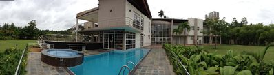 Lanka Lake Villa Luxury Waterfront Mansion fully Furnished to American Standards