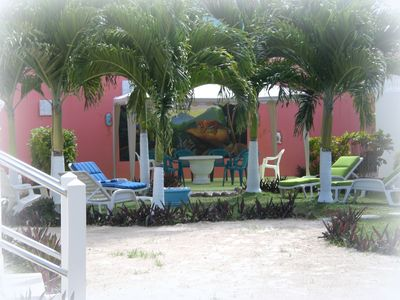 ...just relax and enjoy the beautiful Caribbean climate in the tropical garden
