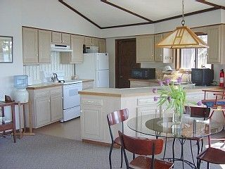 Westport Island cottage photo - Kitchen and dining area