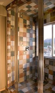Steam Shower in Private Bath