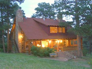 Estes Park cabin photo - Main Lodge at the Overlook Ranch