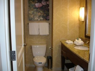 Branson hotel photo - Well-Lit Vanity with Granite CounterTop!